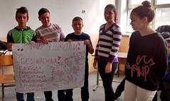 Kids Presenting Peace Paper 3