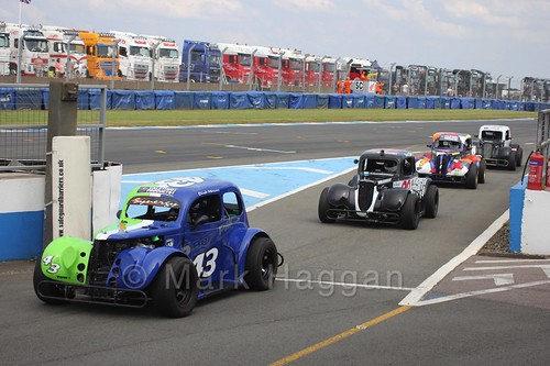 Legends Racing at Donington Park, July 2016