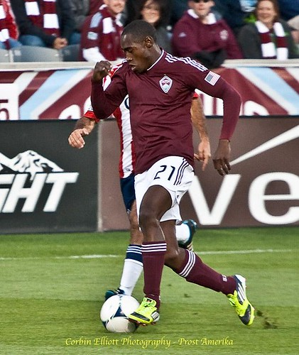 Luis Zapata, Colorado Rapids vs. Chivas USA 28 Apr 2012