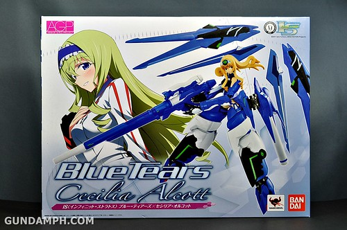 Armor Girls Project Cecilia Alcott Blue Tears Infinite Stratos Unboxing Review (1)