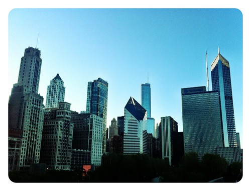Walking Through Chicago on a Lazy Afternoon