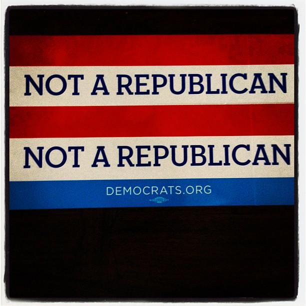 Not A Republican