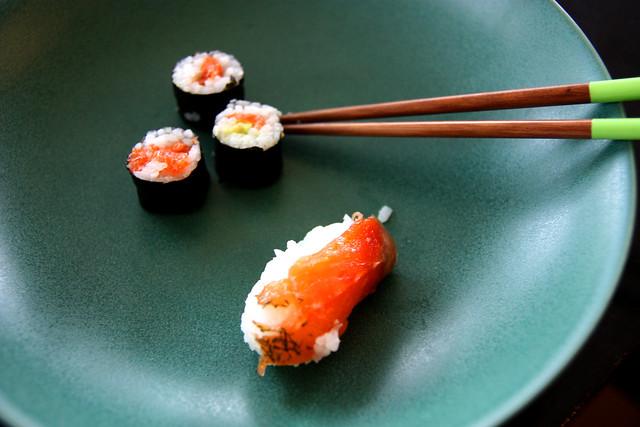 Sushi, baby!