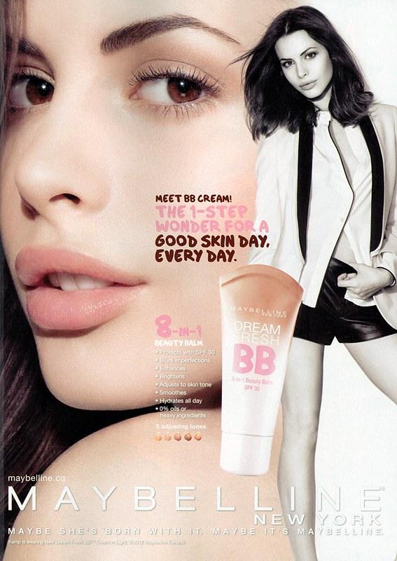 Maybelline Dream BB Cream advert