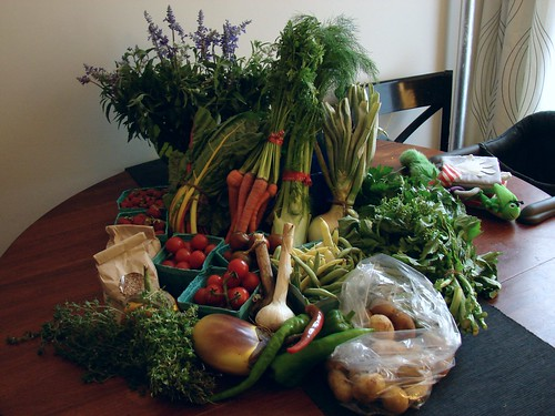 Market Haul, July 21, 2012