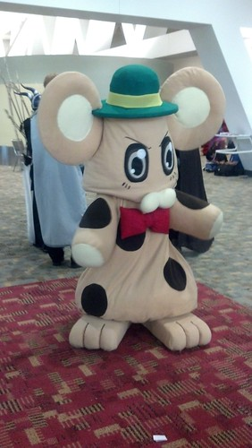 Cute Mouse Cosplay Costume at Otakon 2012
