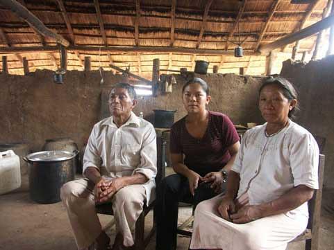 Indígenas chiquitanos