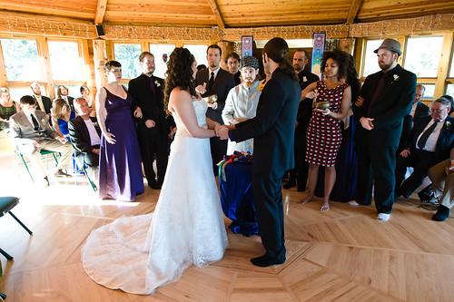 Esoteric wedding ceremony