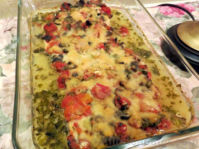 Baked Dory Siciliana