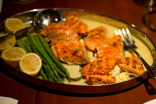 wild alaskan copper river salmon