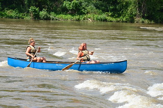 Canoe at Ledges Park