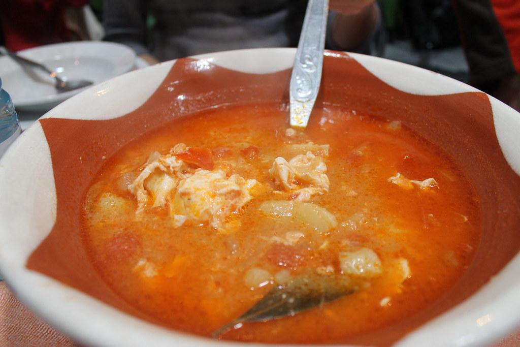 Sopa en el Alentejo portugués