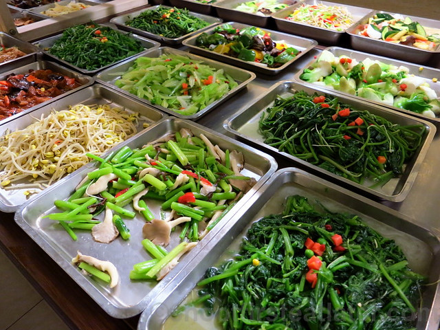 素雅屋 (vegetarian restaurant in Taimall, Taipei)-005