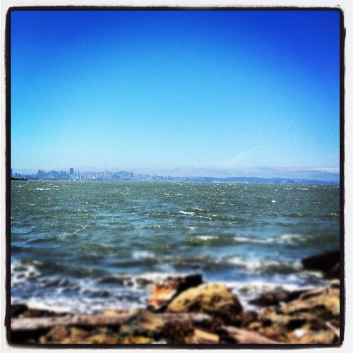 San Francisco in the distance