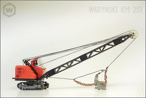 Koparka Waryński KM-251 by V1