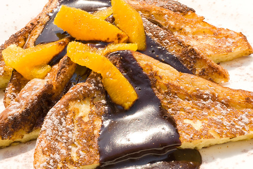 Chocolate and Orange French Toast