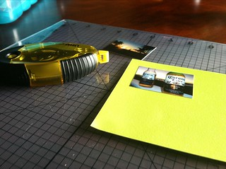 Making a photo mat