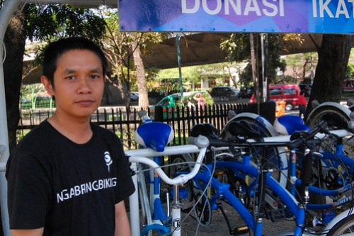 Eka, Bicycle Rental Staff