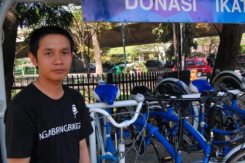 Eka, Bicycle Rental Staff