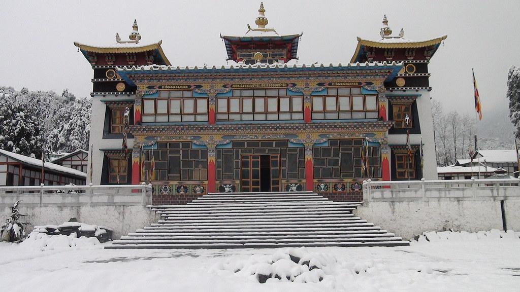 Khinmey Nyingma Monastery,Tawang, Arunachal Pradesh