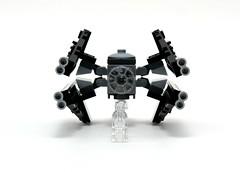 9676 TIE Interceptor & Death Star - Front