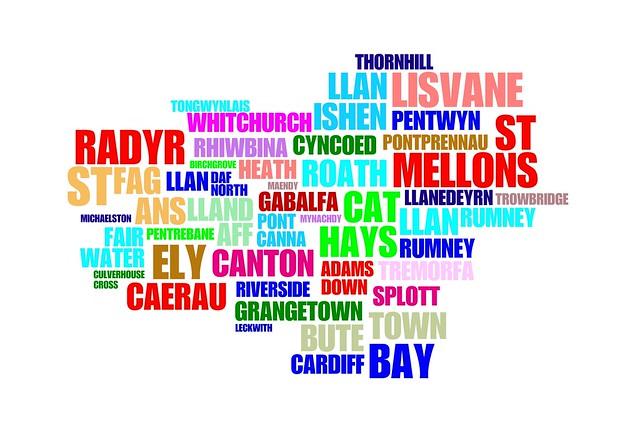 Cardiff Typo Map