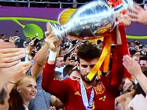 """Campeones Europa  2012 """"España Quien sino """""""