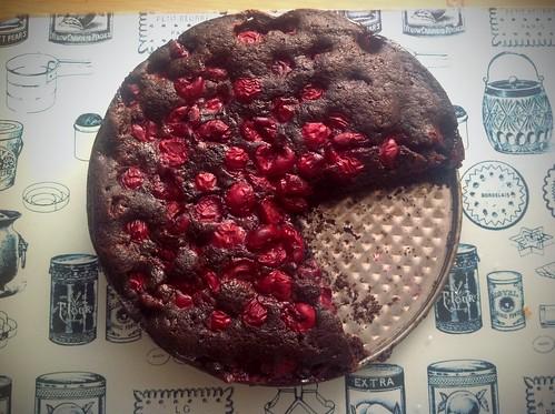 Ciasto czekoladowe bez jaj