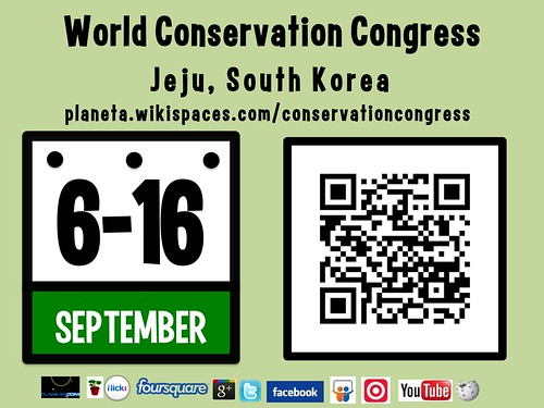 Will this be the Social Web World Conservation Congress? September 6-16 #iucn2012 #rtyear2012