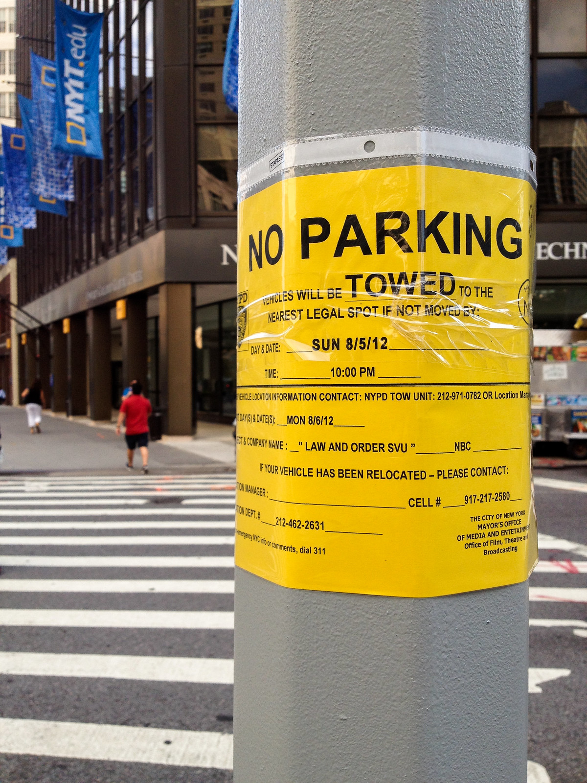 No Parking by wwward0