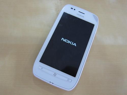 Lumia 710 front