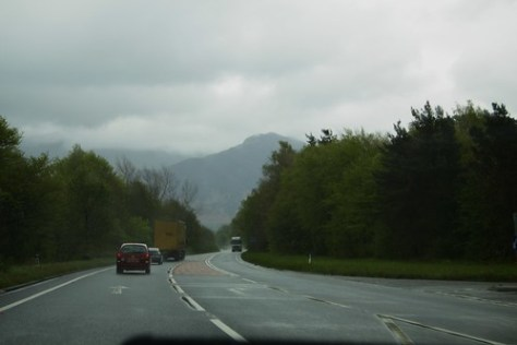 En route from Cockermouth to Grasmere