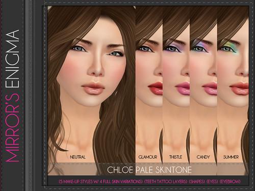 Chloe Pale Skintone