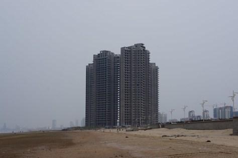 Yantai ruined building