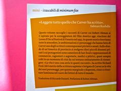 minimum fax / mini. Progetto grafico: Riccardo Falcinelli. 9