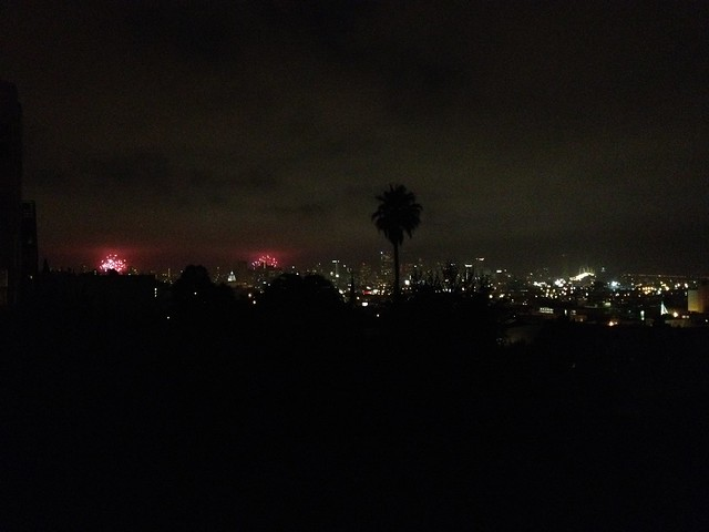 Fireworks display from my balcony