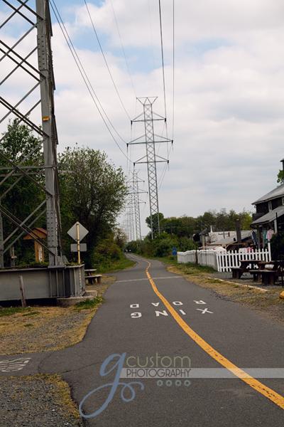 16 - my town bike path