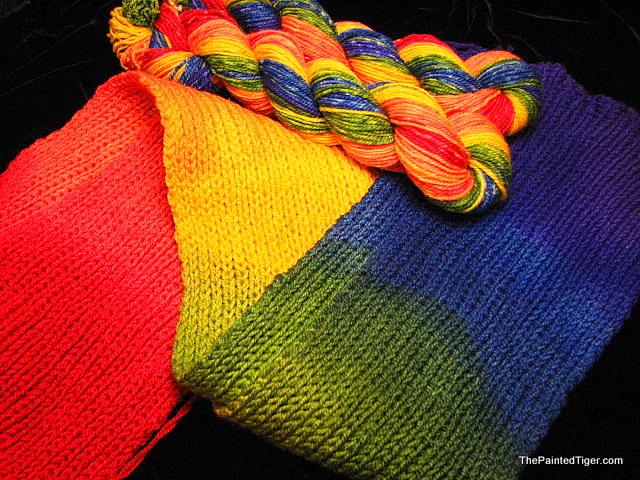 One Rainbow - Tiger Sport Yarn