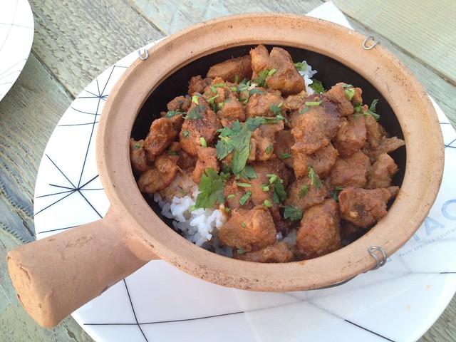 Red curry pork shoulder - Jiao