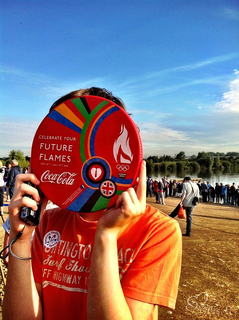 Olympic Torch Relay, Fairlop Waters