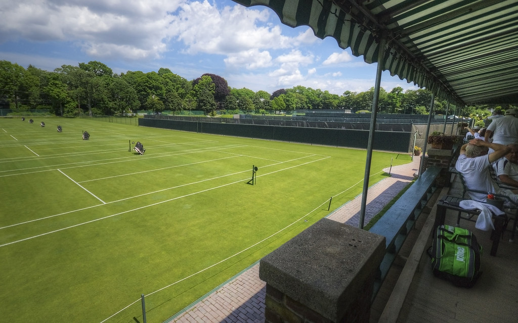 The Grass Courts