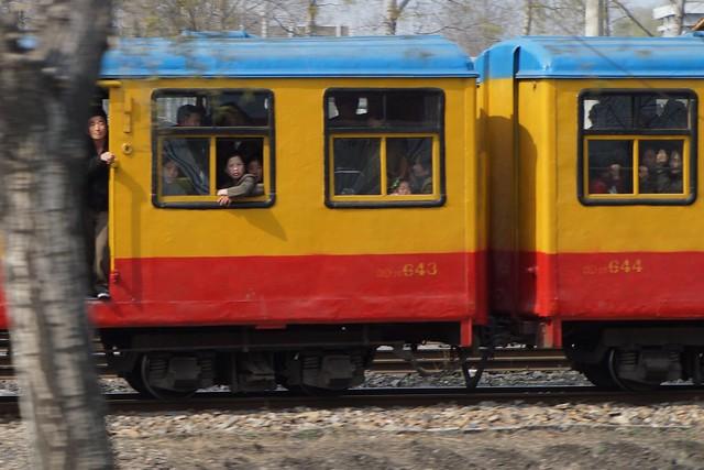 North Korean Rail Service