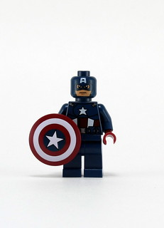 6865 Captain America's Avenging Cycle - Cap Front