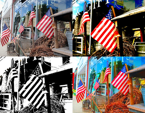 Four Flags Mood Composite