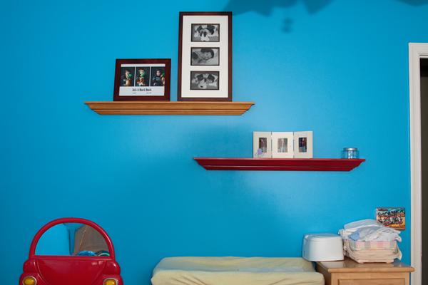 ledge shelves
