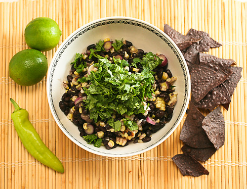 Roasted Corn and Black Bean Salad (1 of 5)