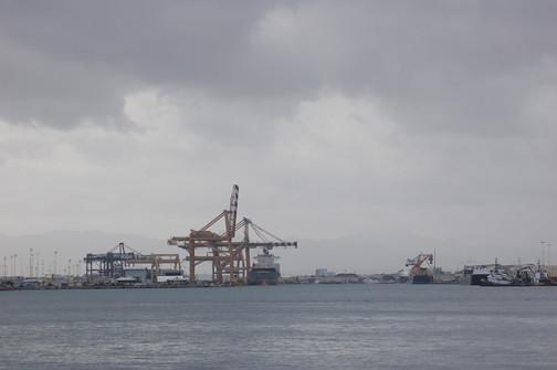 gloomy harbor