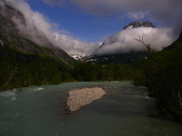 Brenndal glaciier