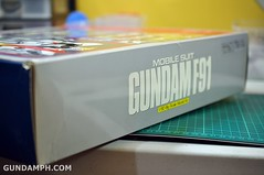 Gundam F91 1-60 Big Scale OOTB Unboxing Review (11)