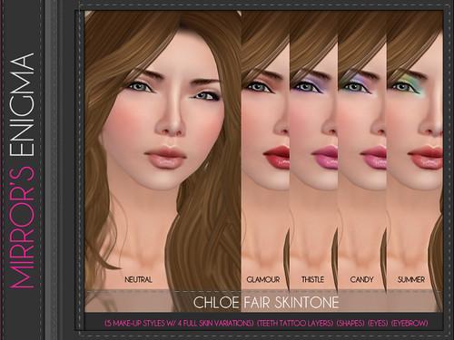 Chloe Fair Skintone